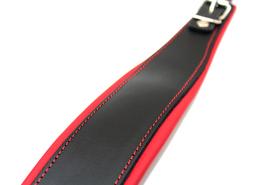 Pasy do akordeonu SZEROKIE BLACK/RED 80 bas