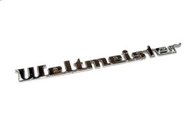 Duży Napis WELTMEISTER - ORYGINAŁ