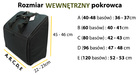 PREMIUM Polski pokrowiec na akordeon CZERWONY (15)