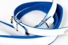 SZEROKIE pasy nośne do akordeonu BLUE/WHITE (2)