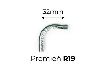 Narożnik miecha R19 - 32mm (1)